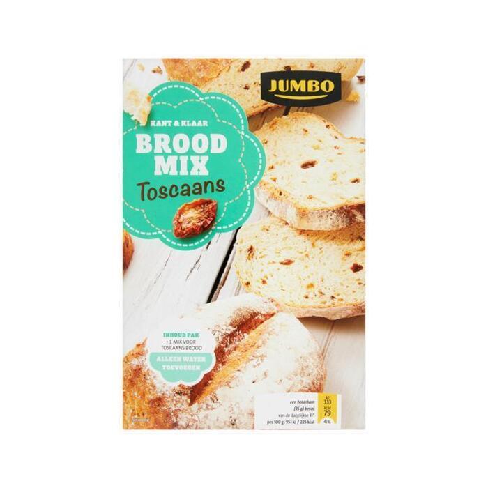Jumbo Kant & Klaar Brood Mix Toscaans 450g (450g)