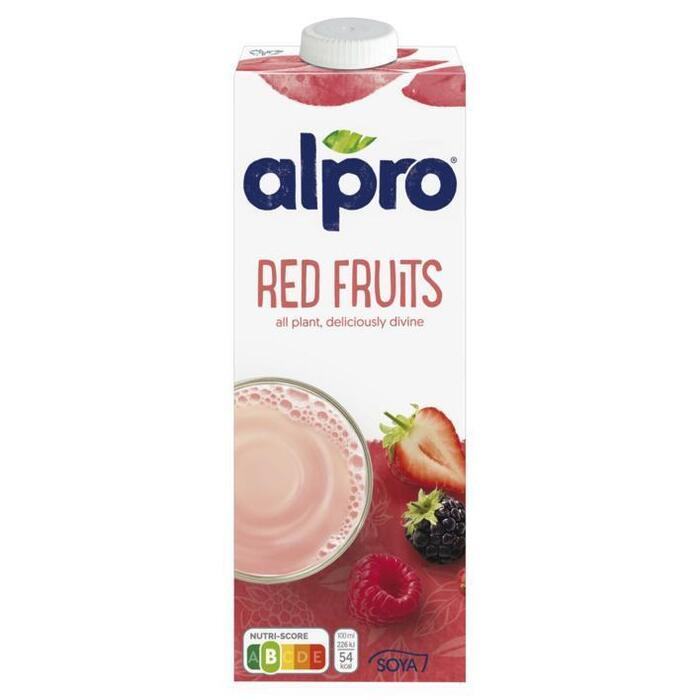 Alpro Sojadrink Rode Vruchten 1 L (Stuk, 1L)