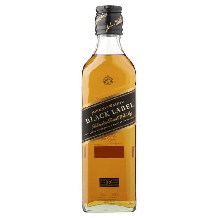Johnnie Walker Black label old Scotch whisky 12 years (rol, 35cl)
