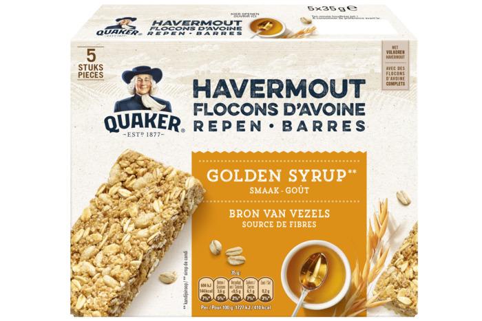 Havermout Repen Golden Syrup Smaak (doos, 5 × 175g)