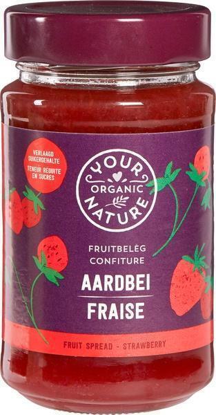 Aardbeien fruitbeleg (250g)
