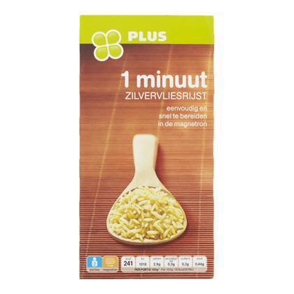 1-minuut zilvervliesrijst 2 x 150 gram (300g)