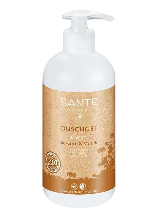 Family Douchegel Bio-Kokos-Vanille SANTE 500ml (0.5L)