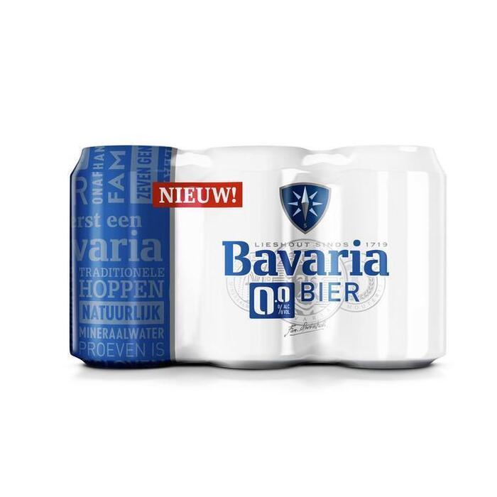 Bavaria 0.0% (rol, 6 × 33cl)