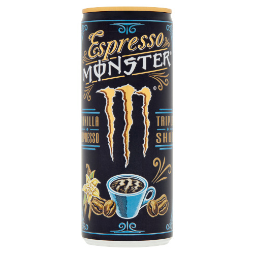 Monster Vanilla Espresso Triple Shot 250 ml (250ml)