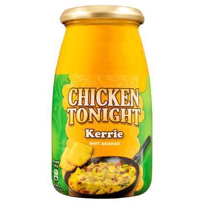 Roerbaksaus chicken tonight kerrie (520g)