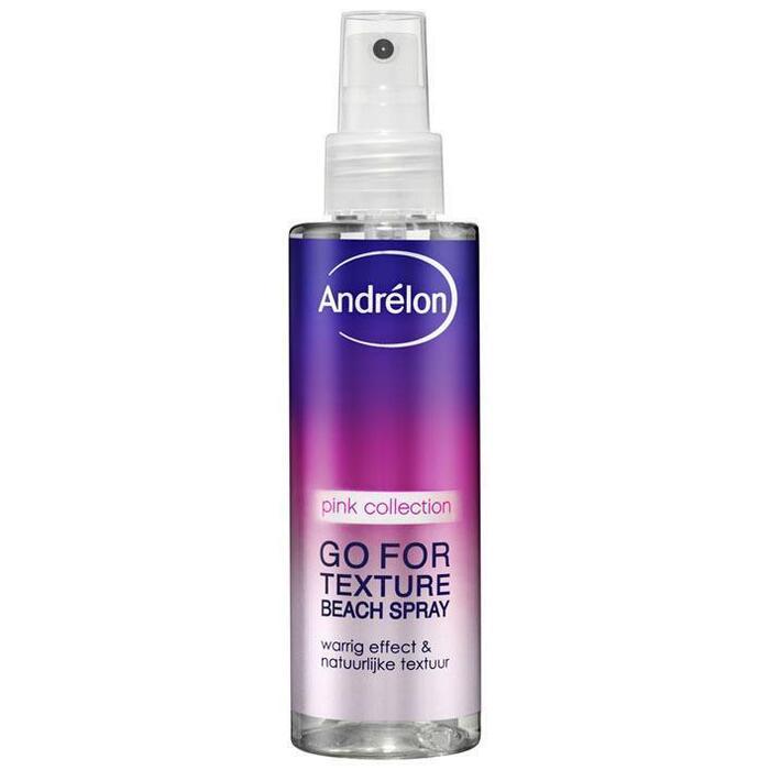 Andrélon Pink beachy texture sea salt spray (150ml)