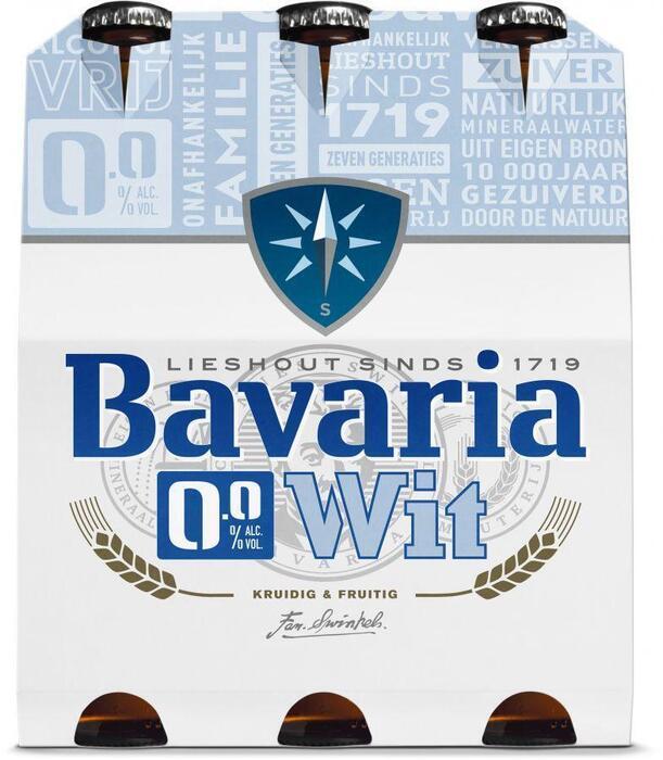 Bavaria 0.0% Wit (rol, 1.8L)