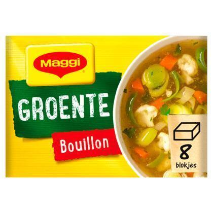 Groente bouillon, Vegetarisch (8 tabletten) (tabl, 8 × 80g)