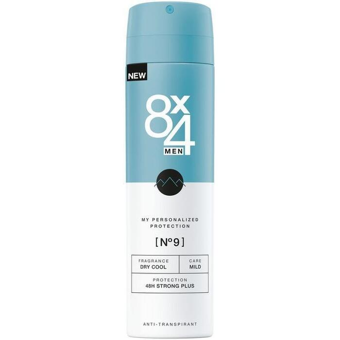 8x4 No.9 Anti-Transpirant Spray 150 ml (150ml)