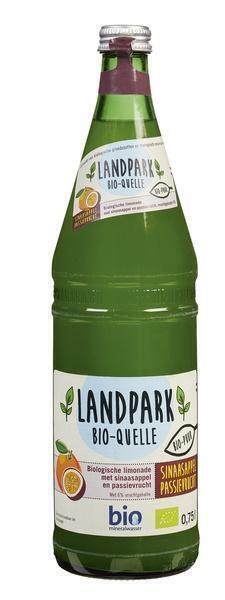 Landpark Bio-Quelle Biologische Limonade met Sinaasappel en Passievrucht 750 ml (0.75L)
