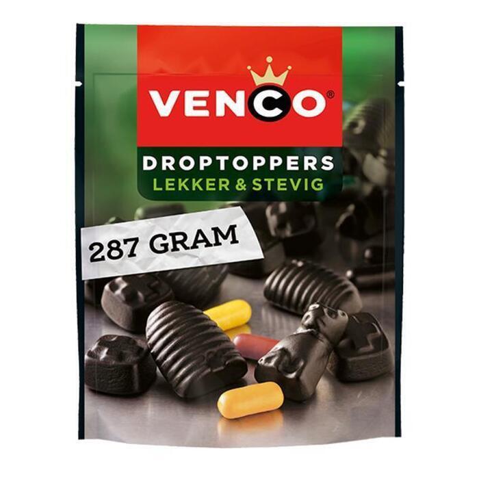 Venco Droptoppers lekker en stevig (287g)