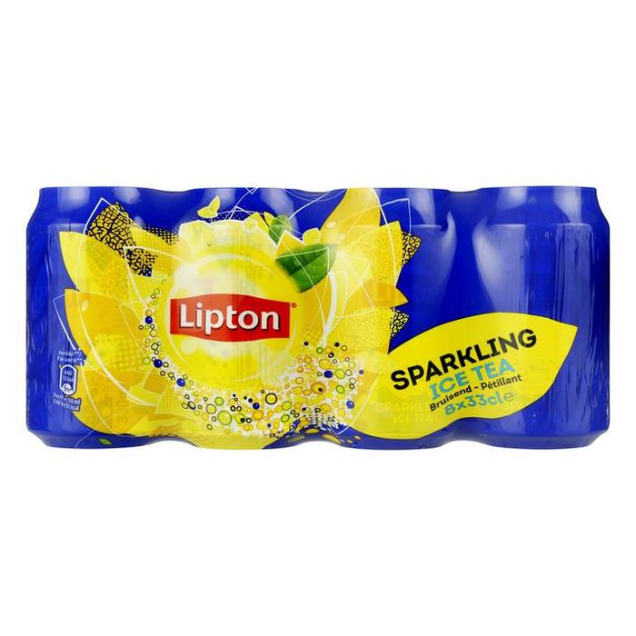 Lipton original Ice Tea 8x33CL 3x CLR (8 × 2.64L)