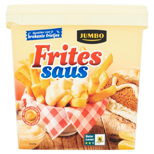 Jumbo Fritessaus 750 ml (0.75L)