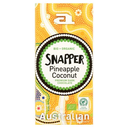 Australian Snapper Pineapple Coconut Premium Dark Chocolate 100 g (100g)