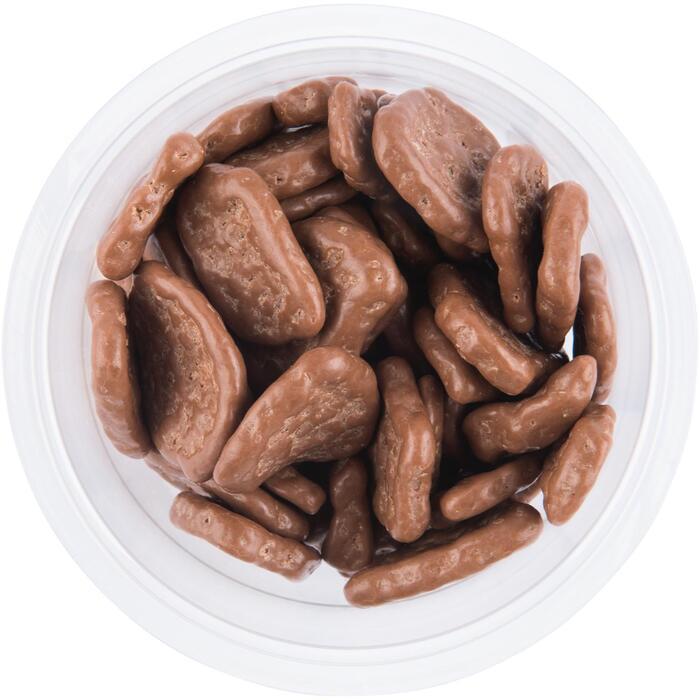Chocolade banana chips melk (185g)