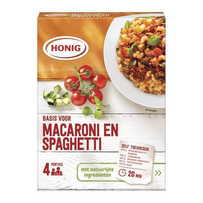 Mix voor macaroni en spaghetti (41g)