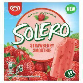 Ola Solero strawberry smoothie (6 × 33cl)