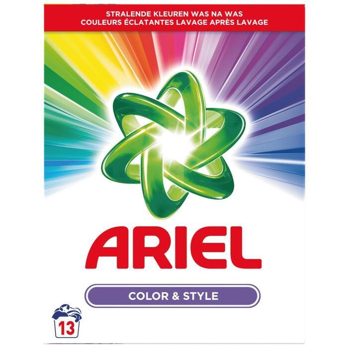Ariel Kleur & Stijl Waspoeder 845G, 13 Wasbeurten (845g)