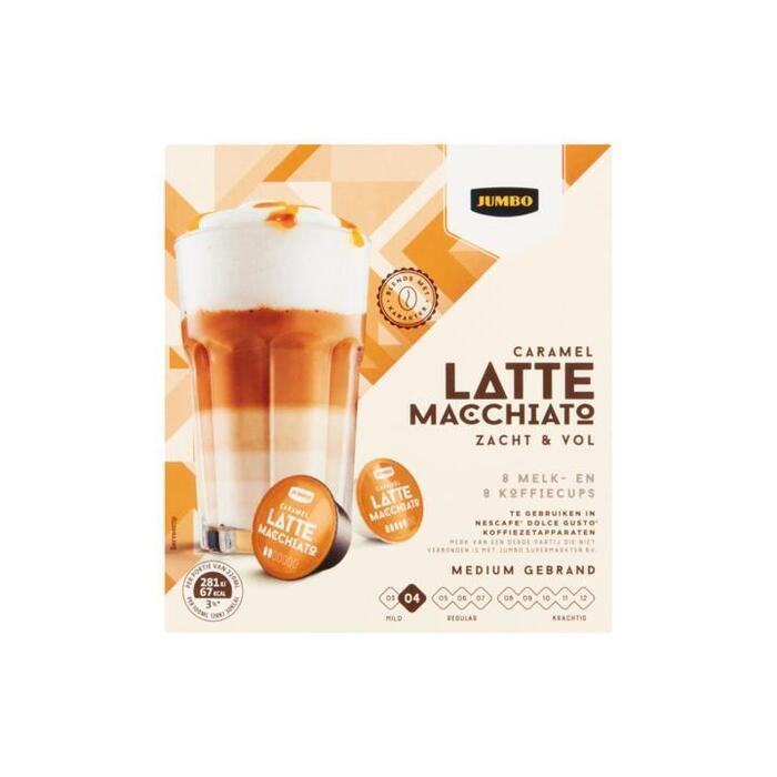 Jumbo Latte Macchiato Caramel Zacht & Vol 168 g (168g)