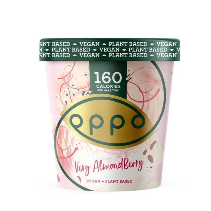 Oppo Ice Cream Vegan raspberry almond (47.5cl)