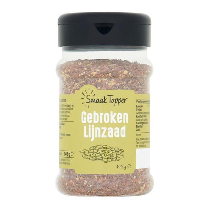 Smaak Topper Gebroken Lijnzaad 145 g (145g)