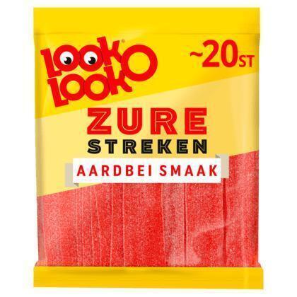 Zure aardbeienmatten (Stuk, 200g)