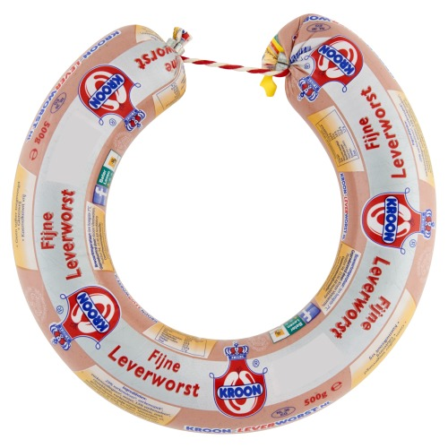Kroon Kroon Fijne Leverworst Ring  5 (500g)