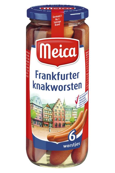 Meica Frankfurter knakworsten (6 × 90g)
