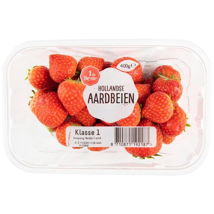 Hollandse aardbeien (400g)