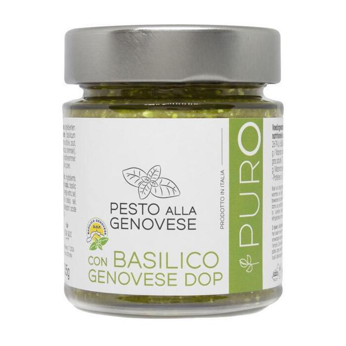 Puro Pesto alla Genovese con basil DOP (135g)