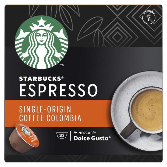 Starbucks Dolce Gusto single origin colombia (12 × 5.5g)