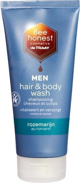 Men hair & body rozemarijn (200ml)