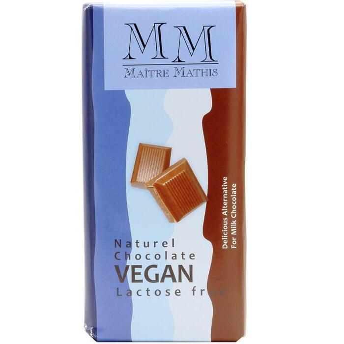 Maitre Mathis, Rijstmelk Choco Tablet Naturel (reep, 100g)