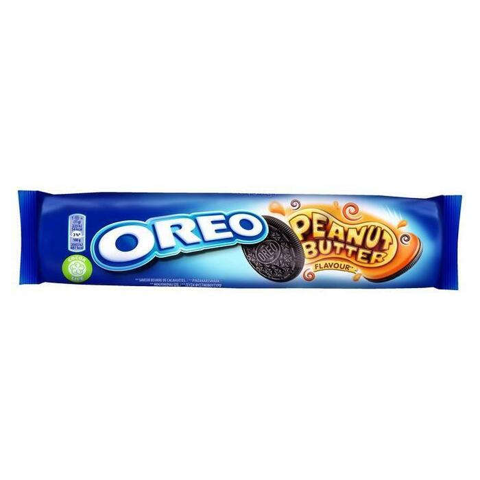 Oreo Biscuits peanut butter rollpack (154g)