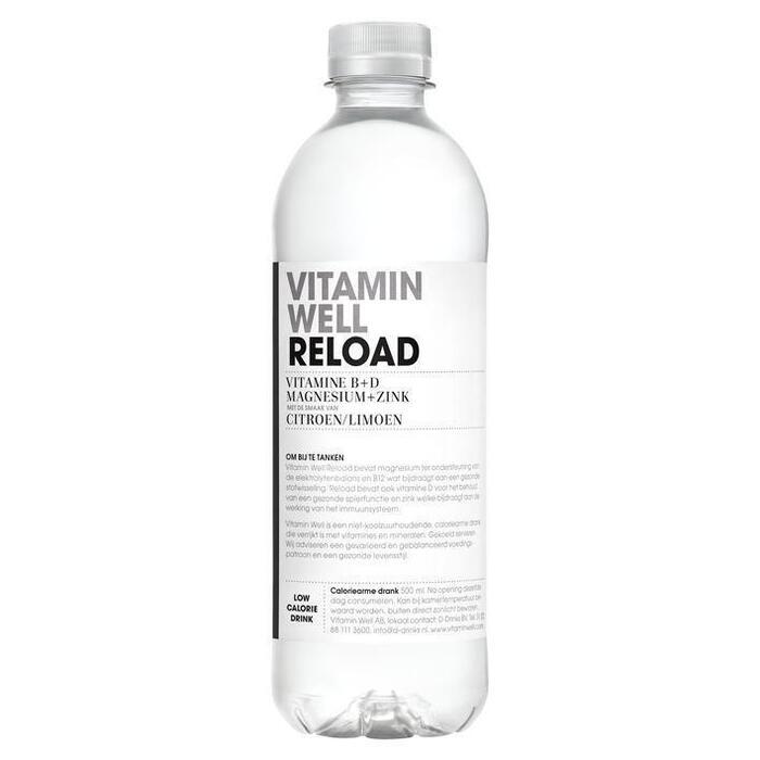 Reload Citroen / Limoen (fles, 50 × 0.5L)