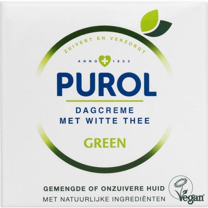 Purol Green dagcrème (50ml)