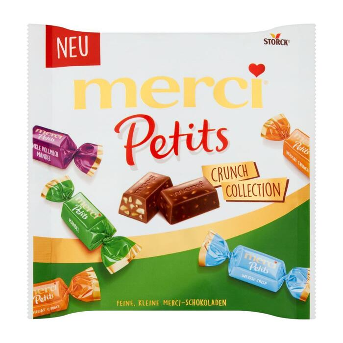 Merci Petits crunch collection (125g)