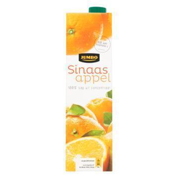 Jumbo Sinaasappel met Extra Vruchtvlees 100% Sap uit Concentraat 1 L (1L)