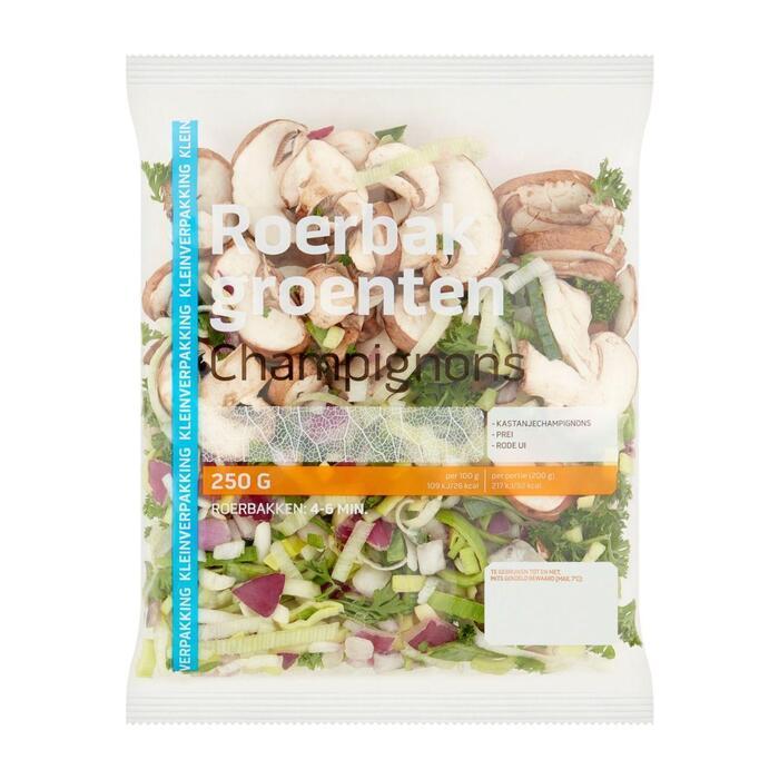 Roerbakgroenten champignon (250g)
