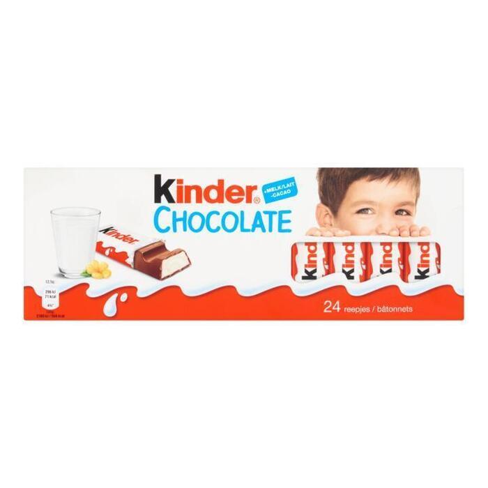 Kinder Chocolate 24 Reepjes Family Pack 300g (300g)