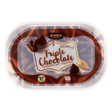 Jumbo Roomijs Triple Chocolate 500 g (500g)