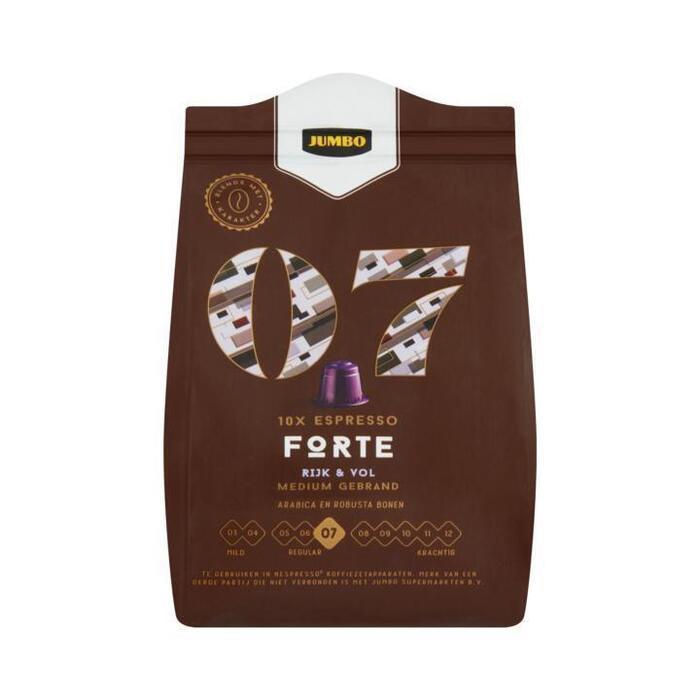 Jumbo 07 Espresso Forte 10 Stuks 52 g (52g)