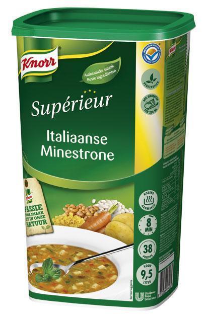 Knorr Supérieur Italiaanse Minestronesoep (6 × 1.04kg)