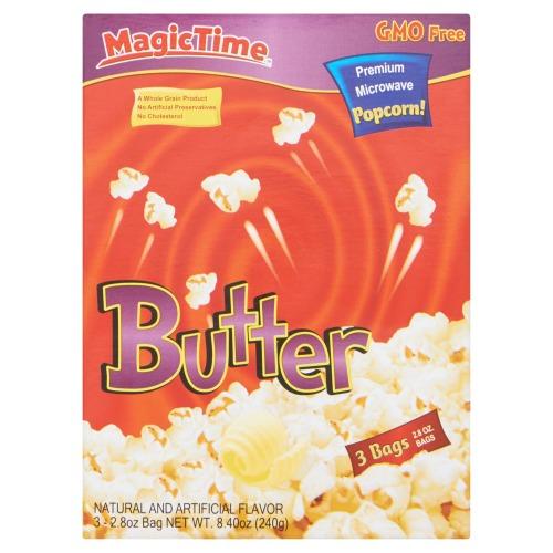 Magic Time Butter popcorn (240g)