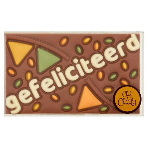 Chef du Chocolat Gefeliciteerd 150 g (150g)