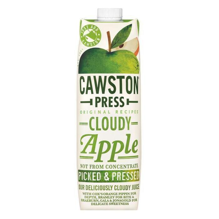 Cawston press, Cloudy apple (pak, 1L)