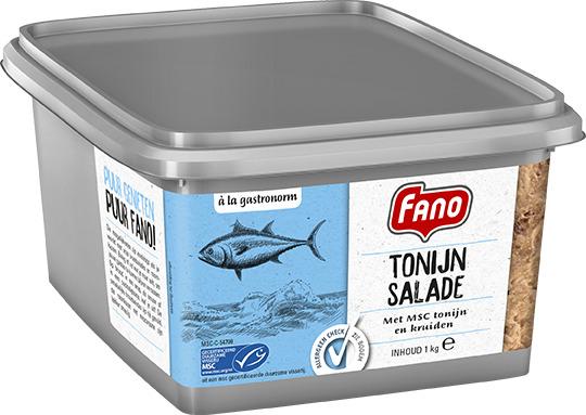 FANO B&T Tonijnsalade 1kg (mand, 1kg)