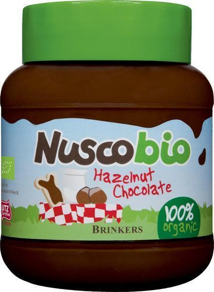 Nuscobio  hazelnoot chocolade (pot, 400g)