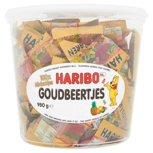 Haribo Uitdeel Mini goudbeertjes (980g)
